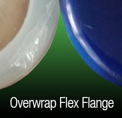 overwrap flex flange