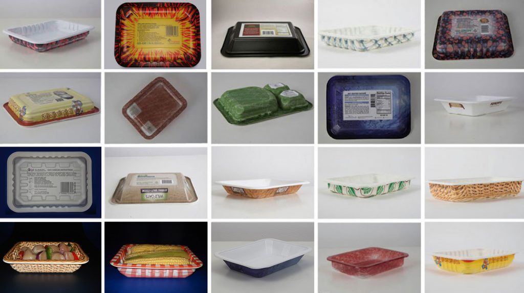 color trays go green
